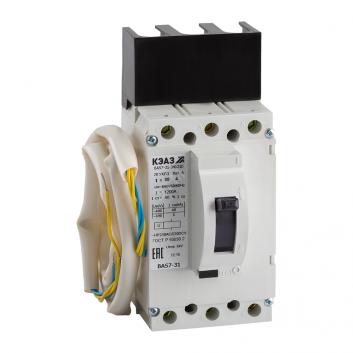 Выключатель автоматический ВА57-31-841810-31.5А-500-220DC-НР230AC/220DC-УХЛ3