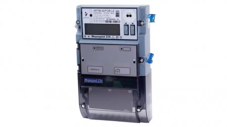 Счетчик электроэнергии Mеркурий 234 ARTM-00 PB.R  трехфазный многотарифный, 5(10), кл.точ. 0.5S/1.0,  Щ, ЖКИ, оптопорт, 2*RS485