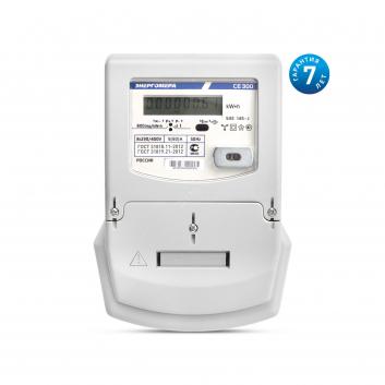 Счетчик электроэнергии CE300 S33 003-J трехфазный однотарифный 5(10) класс точности 0.5s Щ ЖКИ оптопорт